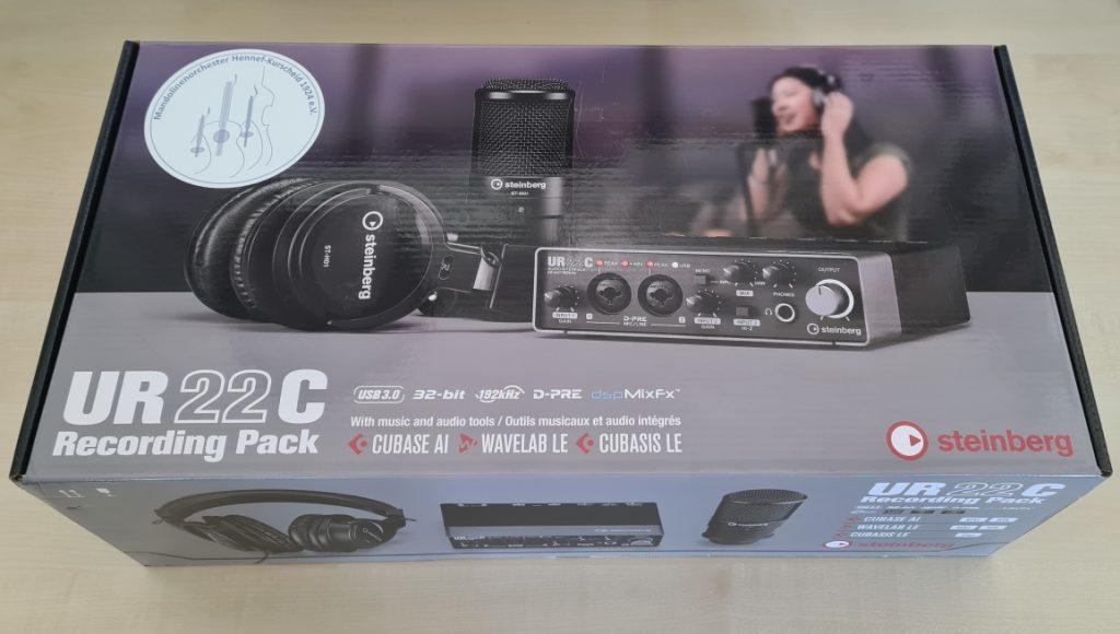 Audio-Interface UR22C Recording Pack
